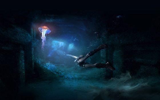 Фото бесплатно tomb raider, затопленный, город