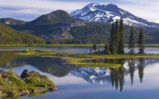 Бесплатные фото вода,река,озеро,деревья,лес,берег,горы