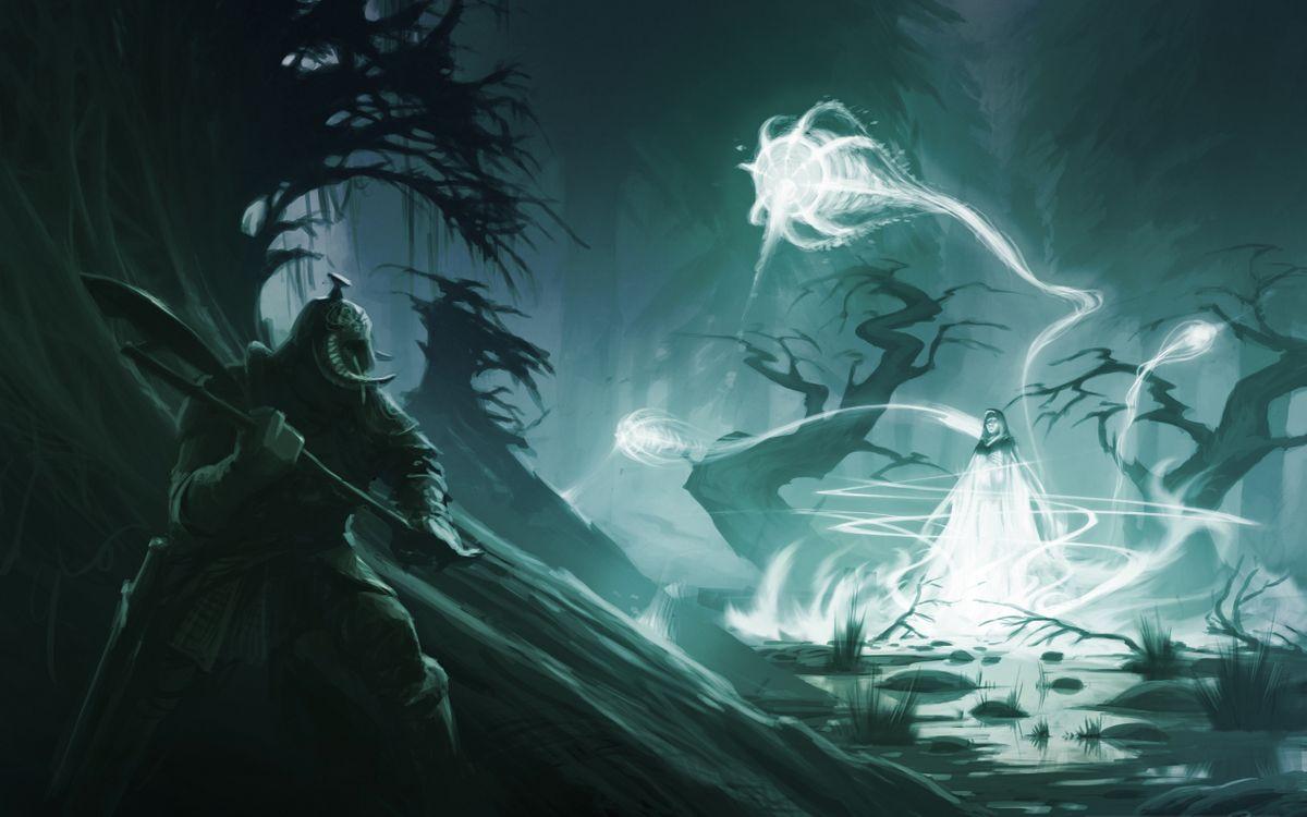 Фото бесплатно воин, the elder scrolls, скайрим, варвар, skyrim, магия, разное