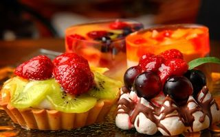 Бесплатные фото пирожное,десерт,еда,сладкое