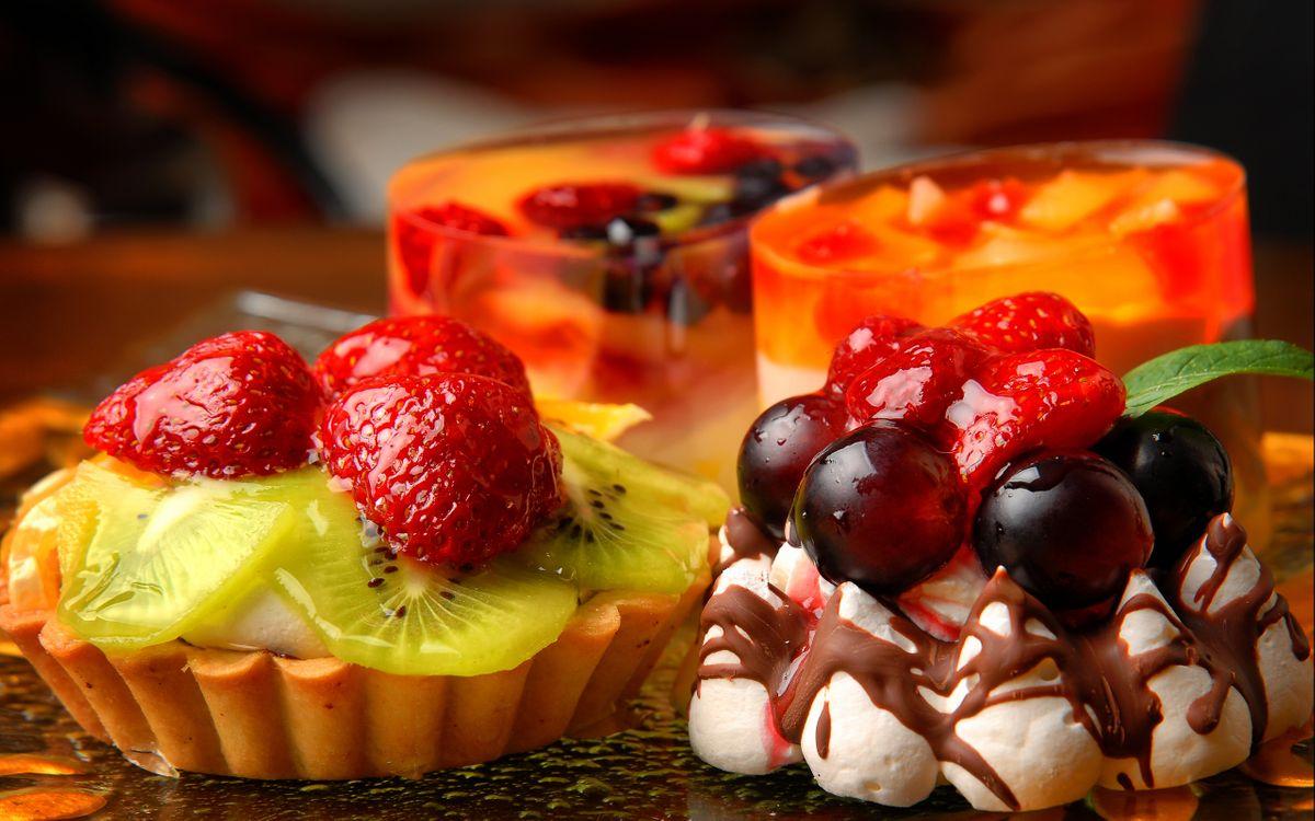 Фото бесплатно пирожное, десерт, еда - на рабочий стол