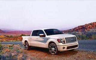 Фото бесплатно ford, f-150, harley-davidson