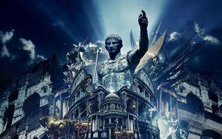 Бесплатные фото рим,картина,всадник,лошадь,сражение,статуя,руины