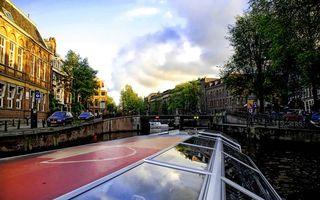 Фото бесплатно дома, автомобили, река