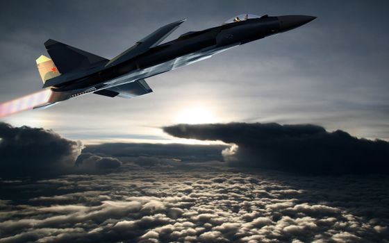 Photo free fighter, speed, supersonic