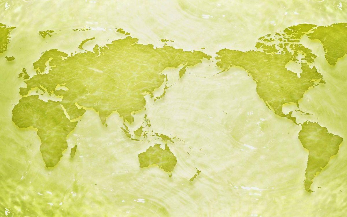 Фото бесплатно карта мира, континенты - на рабочий стол