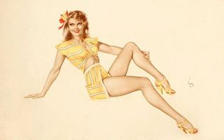 Заставки модель, ноги, платье