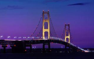 Фото бесплатно мост, небо, голубое