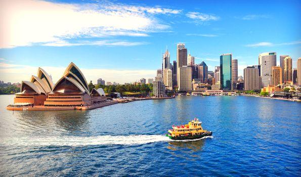 Заставки пейзаж, австралия, сидней