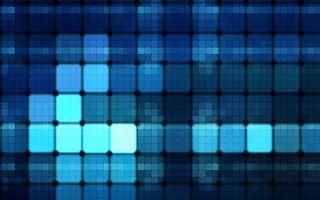 Заставки плитка, мозайка, квадрат, синий, цвет, линии, свет