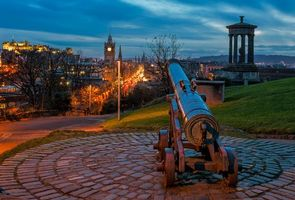 Фото бесплатно Шотландия, Balmoral Hotel, Эдинбургский замок