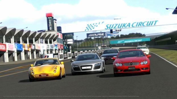Бесплатные фото спортивные,разные,несколько,быстрые,красивые,дорога,машины