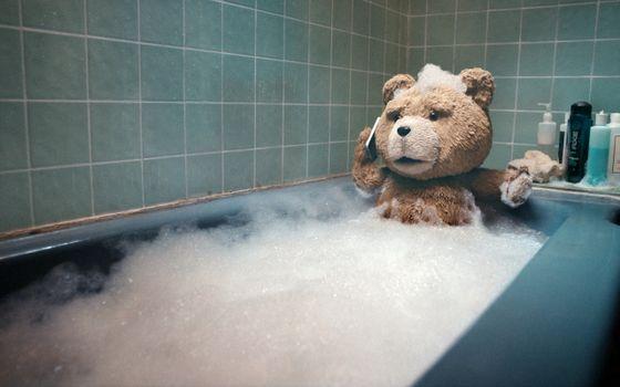 Бесплатные фото третий,лишний,тедди,медведь,плюшевый,ванна,пена,фильмы