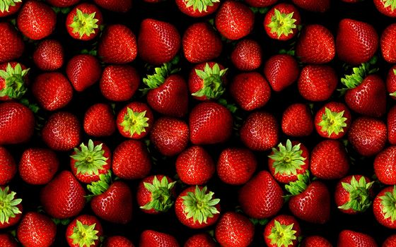 Photo free green, strawberry, red