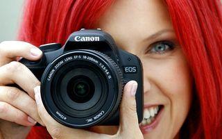 Бесплатные фото фотоаппарат,canon,снимок,лицо,девушка,красные,волосы