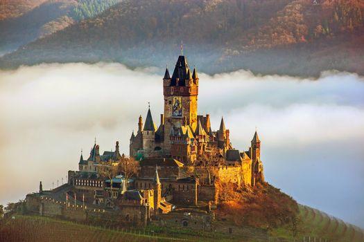 Фото бесплатно пейзаж, германия, замок