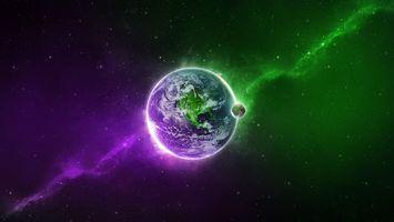 Заставки планета земля, звезды, галактика