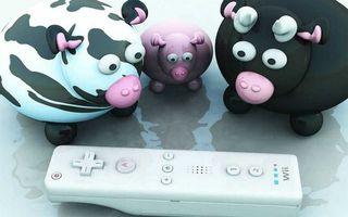 Фото бесплатно свинки, игрушки, рожки
