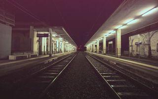 Фото бесплатно железная дорога, электричка, паром