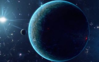 Фото бесплатно новые миры, планеты, солнце