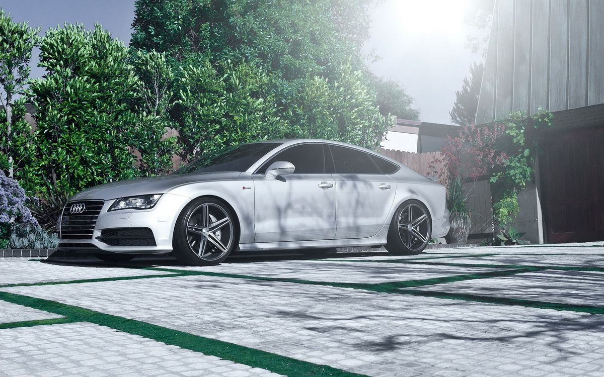 Photos for free Audi, car, wheels - to the desktop