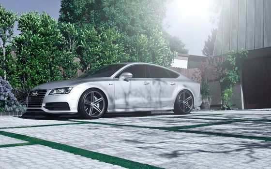 Photo free Audi, car, wheels