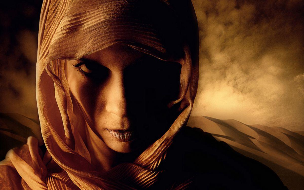 Фото бесплатно девушка, пустыня, песок - на рабочий стол