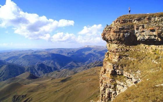 Фото бесплатно гора, высота, обрыв