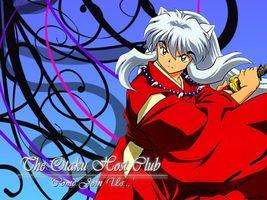 Бесплатные фото inuyasha,sword,demon,long hair,аниме