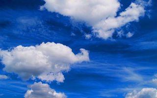 Бесплатные фото небо, голубое, облака, белые, разное