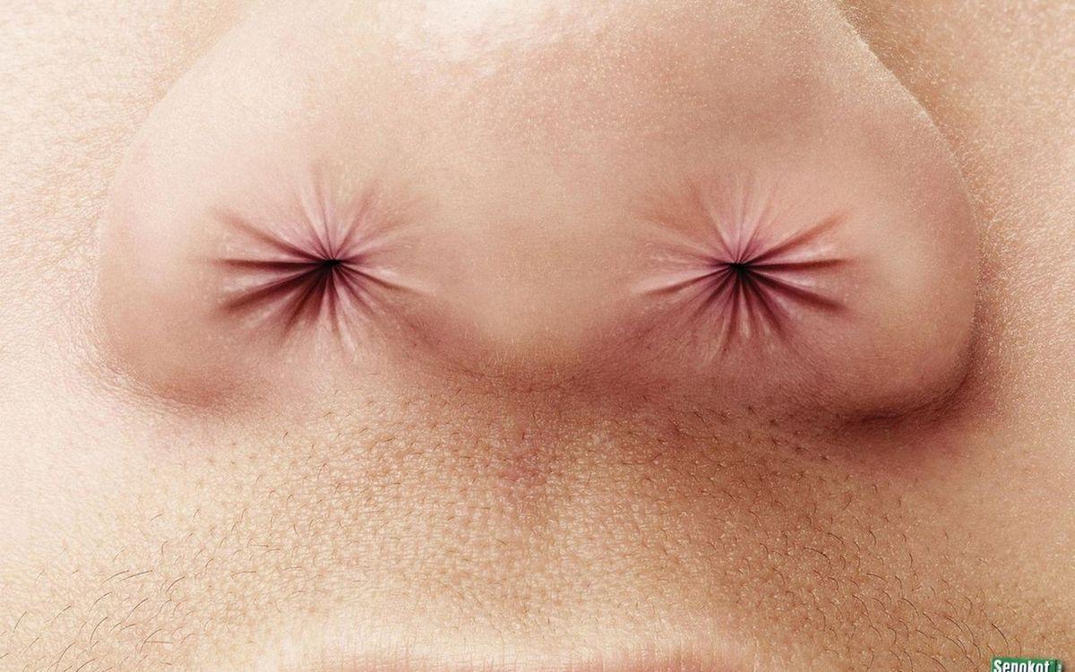 Фото бесплатно нос, пазухи, губы - на рабочий стол