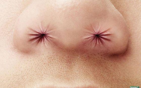 Заставки нос, пазухи, губы