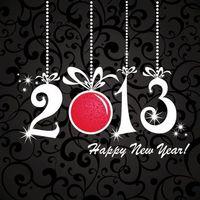 Фото бесплатно новый год, 2013, надпись