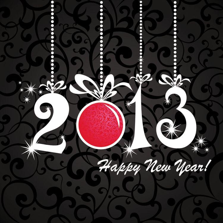 Фото бесплатно новый год, 2013, надпись - на рабочий стол