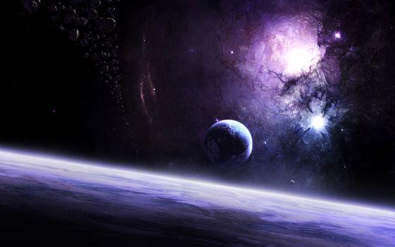 Бесплатные фото планета,спутник,новая,солнечная,система,пояс,астероидов,пыль,туманность,молодая,звезда,фантастика