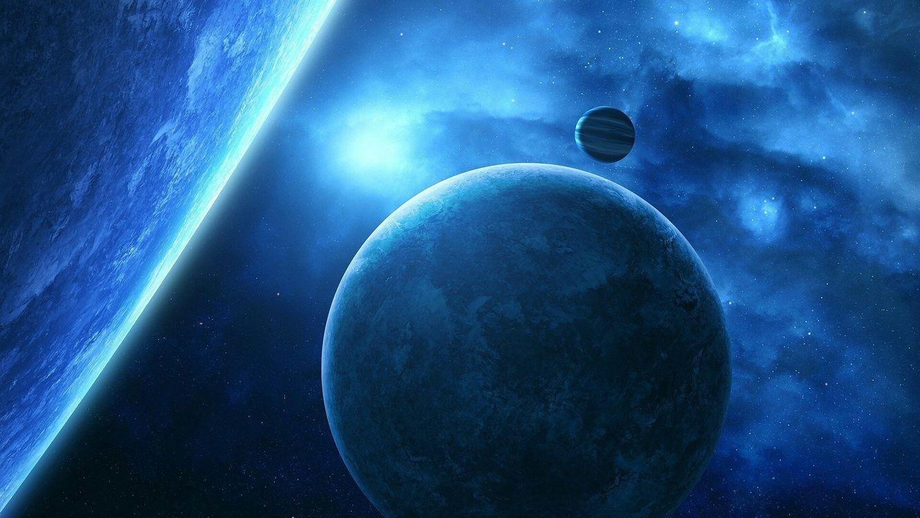 Обои земли, газ, планета картинки на телефон