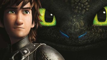 Бесплатные фото приручить,дракона,глаза,зеленые,парень,кожа,мультфильмы