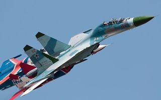 Бесплатные фото су-34, самолет, истребитель, небо, голубое, высота, полет