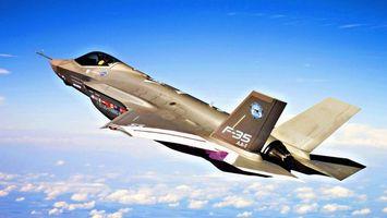 Фото бесплатно самолет, истребитель, полет