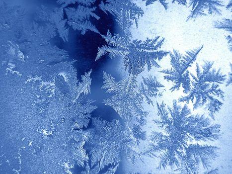 Заставки стекло, мороз, узоры