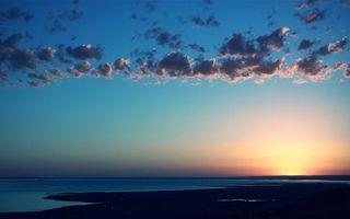 Бесплатные фото закат,солнце,небо,оранжевое,море,океан,пейзажи