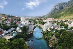 Фото бесплатно міст, річка, вода