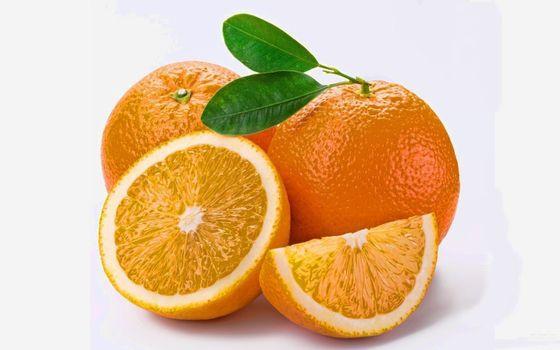 Фото бесплатно апельсин, дольки, цитрус