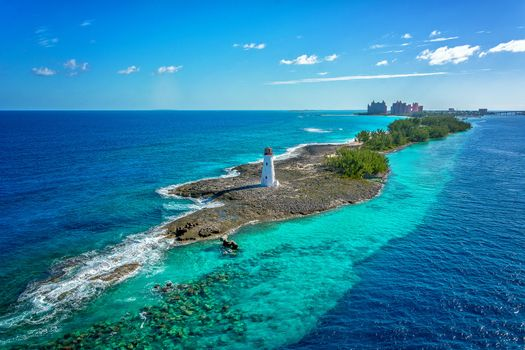 Photo free Bahamas, sea, lighthouse