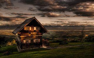 Фото бесплатно дом, избушка, загород