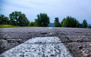 Фото бесплатно дорога, асфальт, полоса