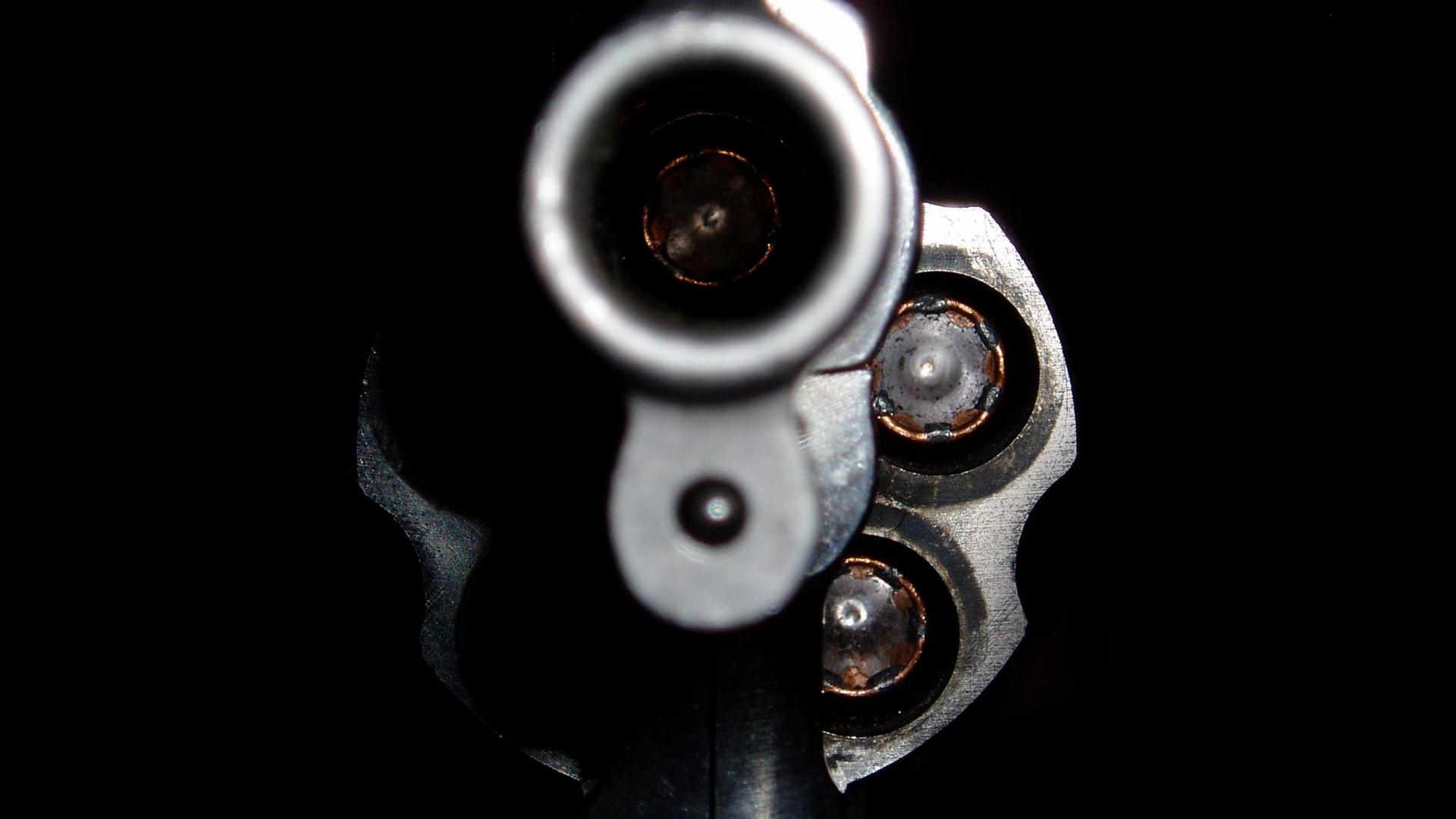 дуло, револьвер, обойма