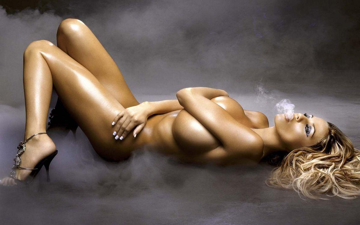 Фото бесплатно дым, модель, кисти - на рабочий стол