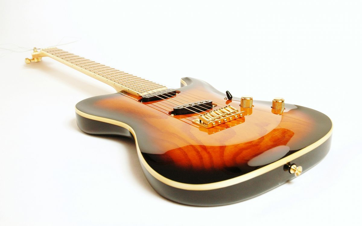 Обои гитара, инструмент, фон картинки на телефон