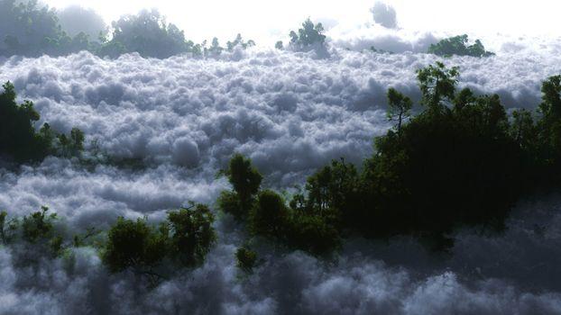 Photo free mountains, trees, avalanche